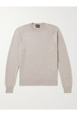 Tom Ford Cashmere and Cotton-Blend Sweater