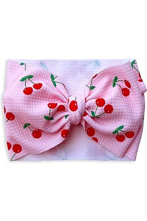 Mini Prep Baby Girl's Cherry-Print Headband