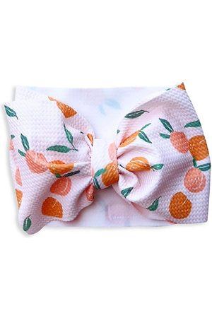 Mini Prep Baby Girl's Peach-Print Headband