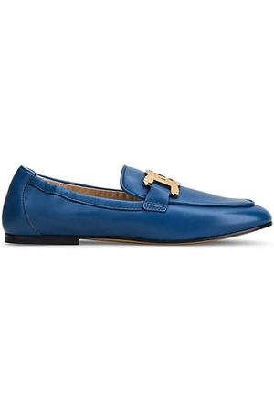 Tod's Kate Elastic Back Leather Loafers