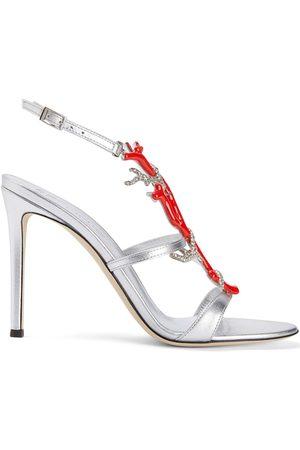 Giuseppe Zanotti Coralli leather stiletto sandals