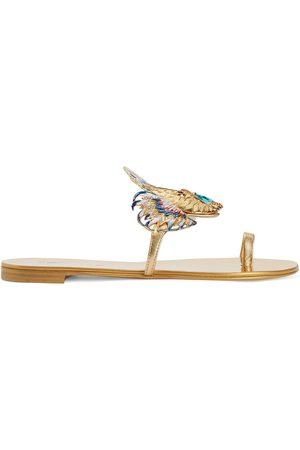 Giuseppe Zanotti Women Sandals - Spipiott embellished metallic sandals