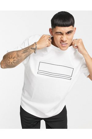BOSS Athleisure Men T-shirts - Tover oversized t-shirt in