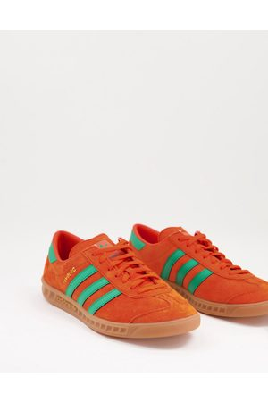 adidas Hamburg trainers in and green