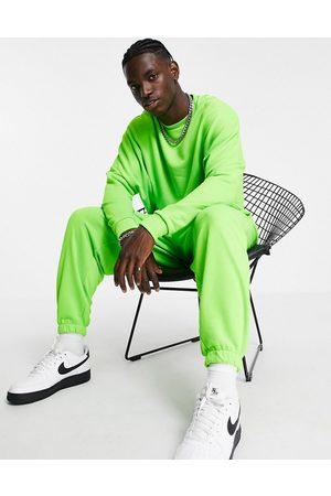 ASOS DESIGN Men Sets - Co-ord oversized sweatshirt in