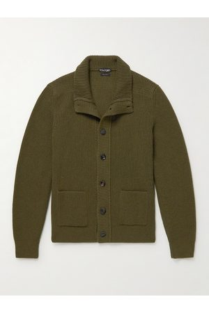 Tom Ford Ribbed Cashmere Cardigan