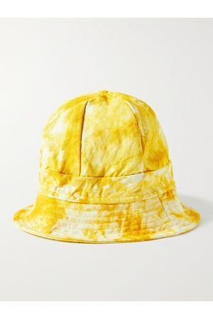 Post-Imperial Elegushi Tie-Dyed Cotton-Canvas Bucket Hat