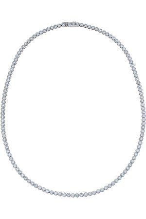 De Beers Women Necklaces - 18kt white gold Diamond Line bezel-set necklace
