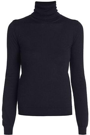 VALENTINO Women Jumpers - Maglia Cashmere & Silk Turtleneck Sweater