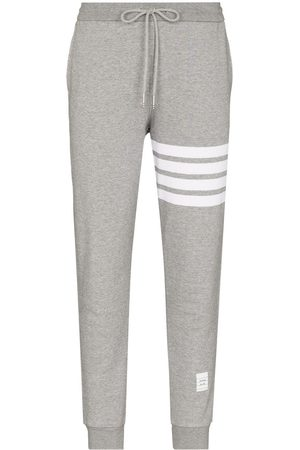 Thom Browne Women Trousers - Classic Sweatpants In Classic Loop Back With Engineered 4-Bar