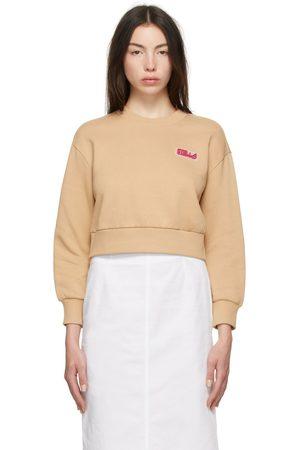Stella McCartney Beige Logo Sweatshirt