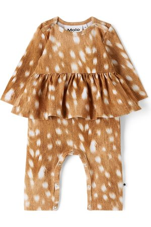 Molo Baby Brown Fawn Florie Bodysuit