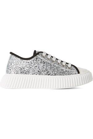 Marni Kids Glitter Low-Top Sneakers