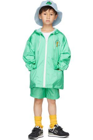 Jellymallow Kids Board Hoodie Rain Coat