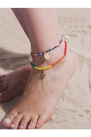 YOINS 1 Set Conch Elastic Beach Shell Anklets