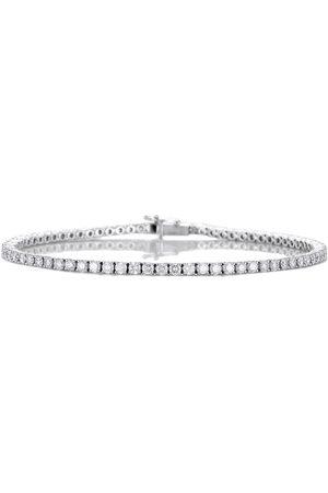 De Beers Jewellers 18kt white gold Diamond Line bracelet