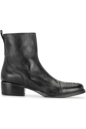 Premiata Panosh perforated ankle boots