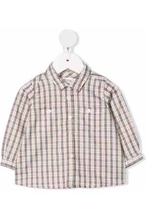 BONPOINT Check-print cotton shirt