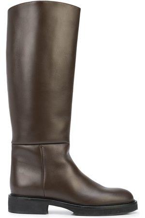 Khaite The Derby knee-high boots