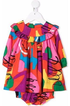 Stella McCartney Painting-print twill dress