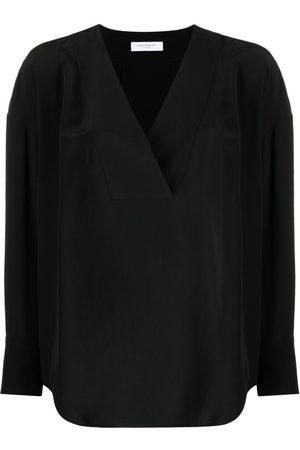 Equipment Natalinne V-neck silk blouse