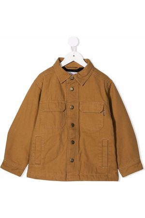 Molo Single-breasted cotton jacket