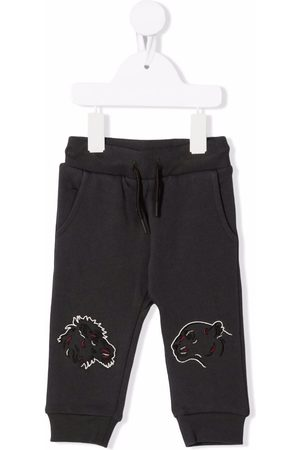 Kenzo Tiger-embroidered track pants