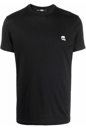 Karl Lagerfeld Ikonik-embroidered T-shirt