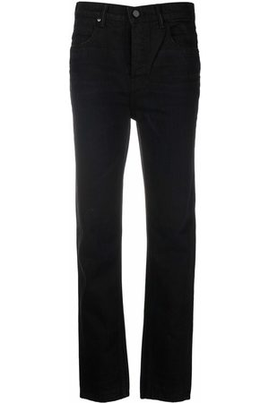 Alexander Wang Boy Fit faded-wash jeans