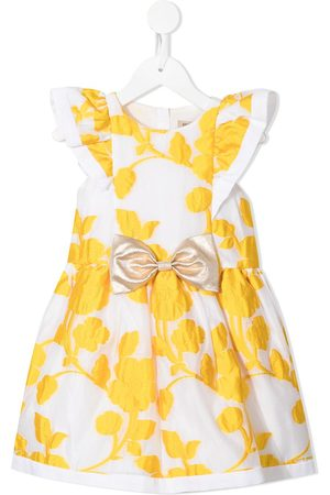 HUCKLEBONES LONDON Floral-embroidered mini dress