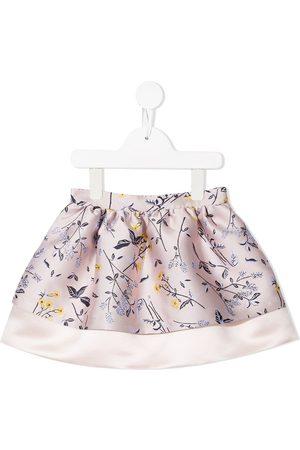 HUCKLEBONES LONDON Jacquard tiered skirt