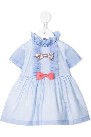HUCKLEBONES LONDON Multi Bow Bodice Dress