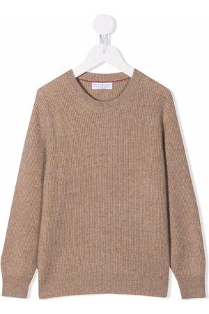 Brunello Cucinelli Ribbed-knit jumper