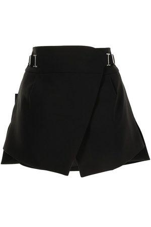 DION LEE Interlock tailored mini skirt