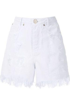 Olympiah Ripped demin shorts