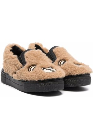 Moschino Toy bear low-top sneakers