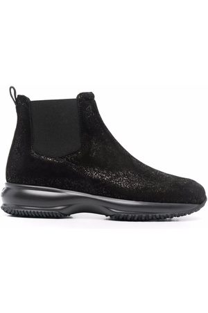 Hogan Interactive suede ankle boots