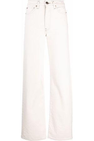 3x1 High-waisted flared jeans