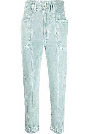 Isabel Marant High-rise tapered jeans