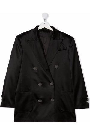 Balmain Peak-lapel single-breasted blazer