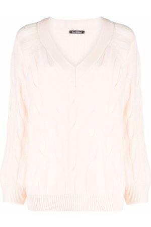 Canessa V-neck cashmere jumper