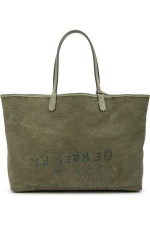 READYMADE Printed canvas tote