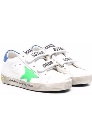 Golden Goose Logo-patch touch-strap sneakers