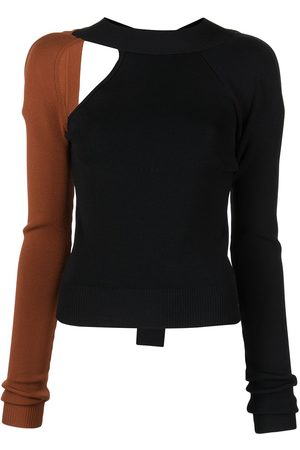 MONSE Two-tone cut-out jumper