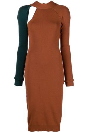MONSE Tie-back knitted dress