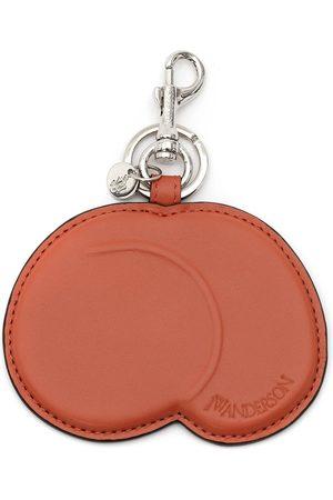J.W.Anderson Peach leather keyring