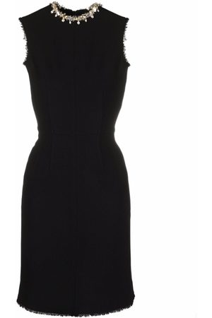Lanvin Embroidered fitted shift dress