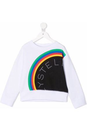 Stella McCartney Logo stripe pattern sweatshirt