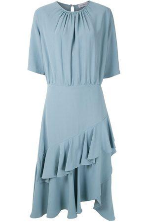 Olympiah Luyne ruffled midi dress