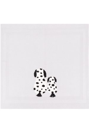 Stella McCartney Dalmatian-embroidered blanket